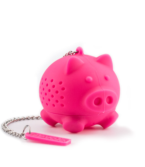 Silicone Tea Infuser - Pig