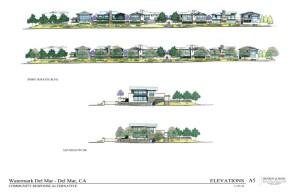 Elevations of 38-home Community Response Alternative