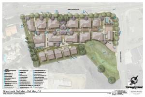 Landscape Concept Plan for 38-home Community Response Alternative