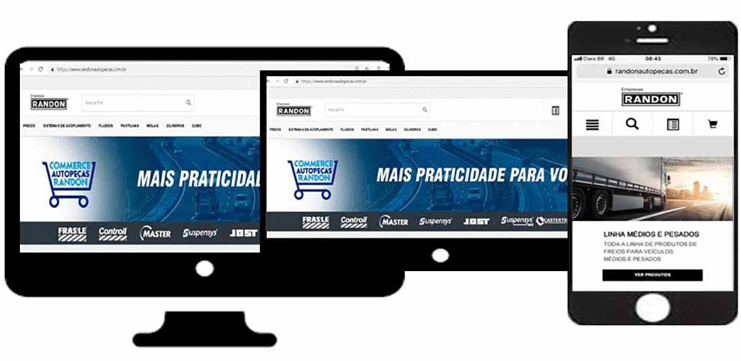 Nova plataforma de e-commerce integra todas as marcas do grupo Randon