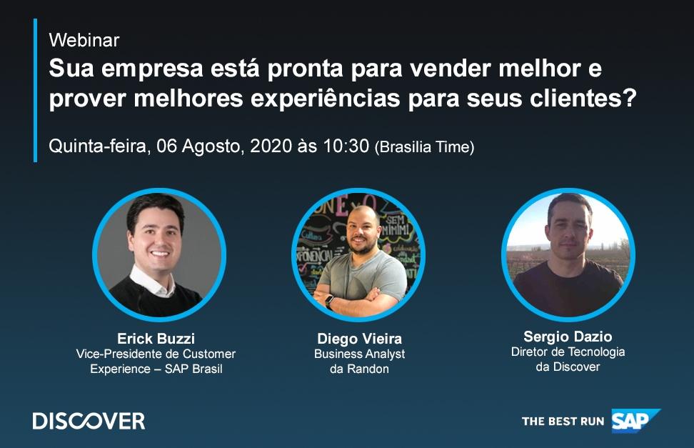 SAP e Discover Promovem Webinar Sobre os Desafios do e-Commerce