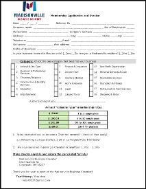 thumbnail of membership application