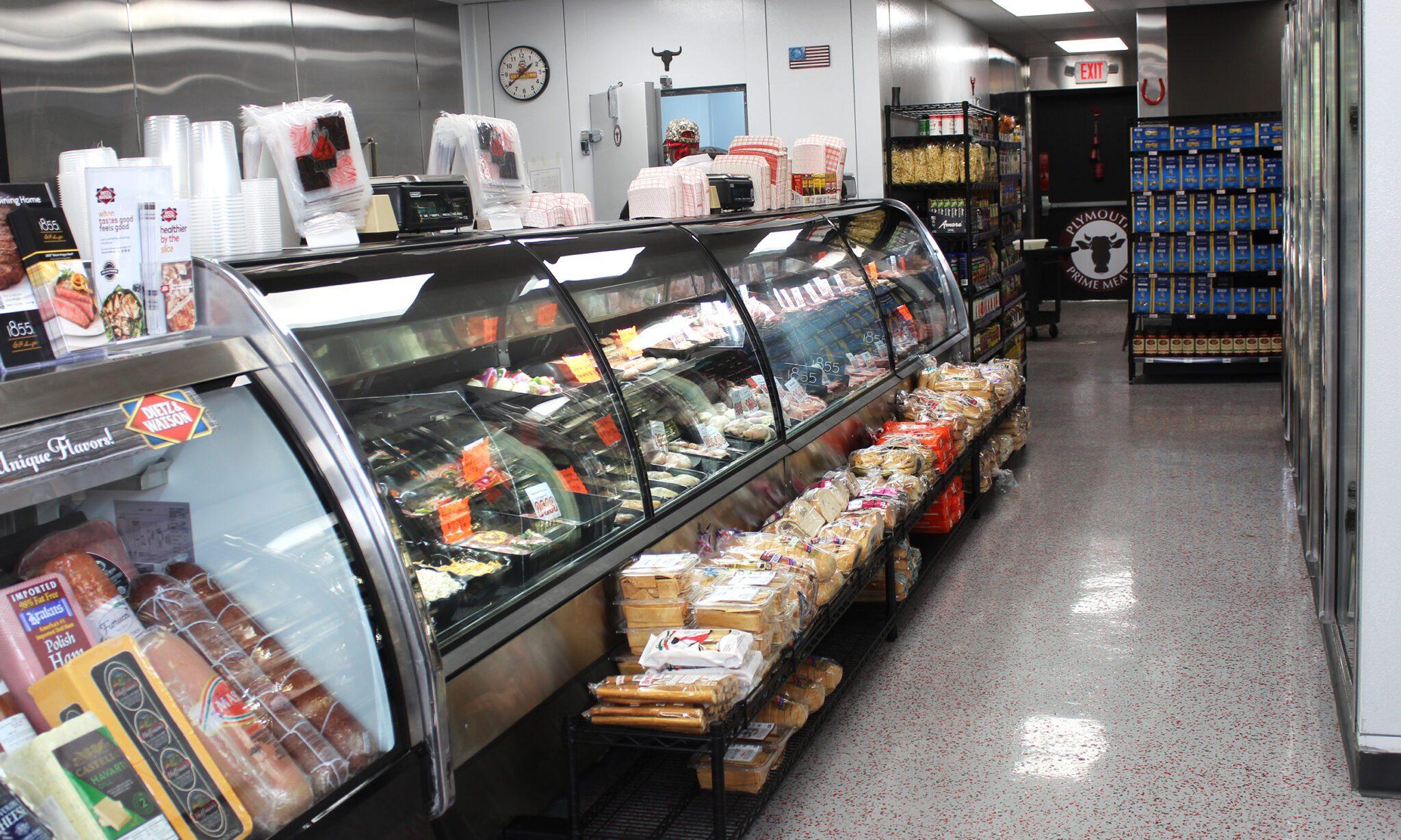 inside photo of the deli counter