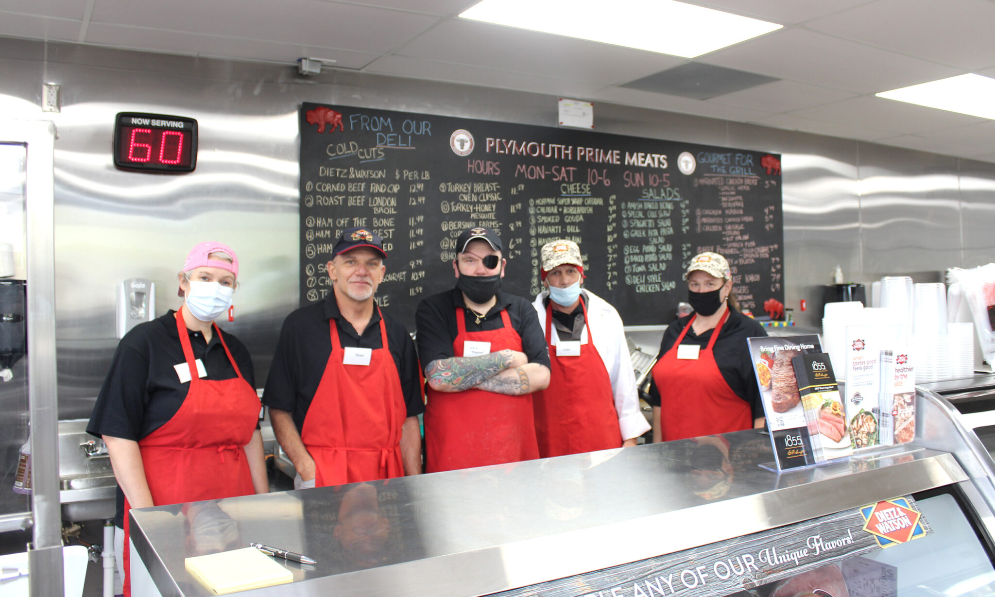 employees at plymouth prime meats