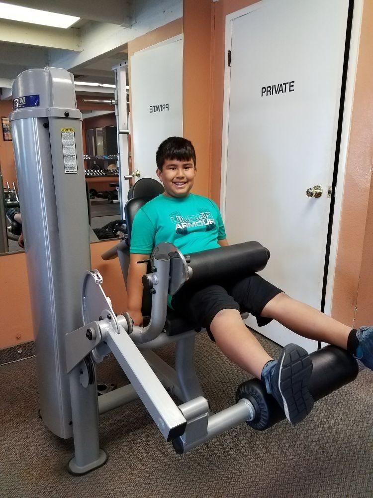 Kid workout
