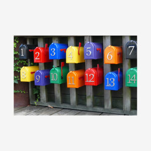 Colored Mailboxes, Vancouver, Canada