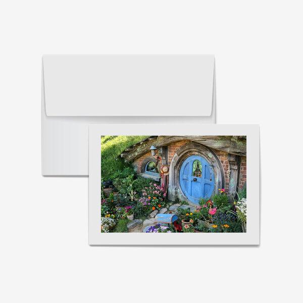 Blue Door Hobbit Home, New Zealand