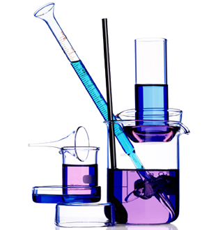 test tubes and beakers