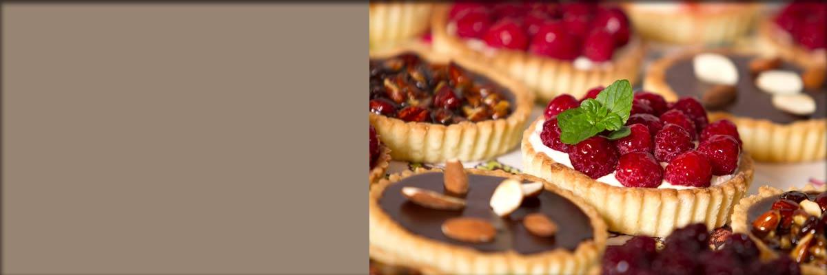 freshly baked desserts