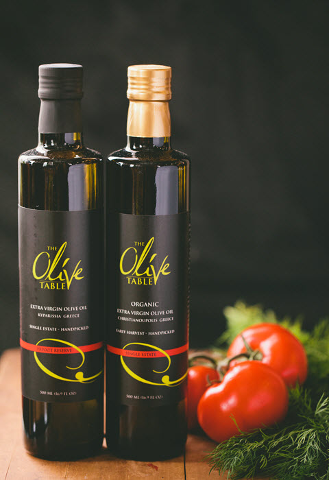 Olive Oil and Honey from Greece