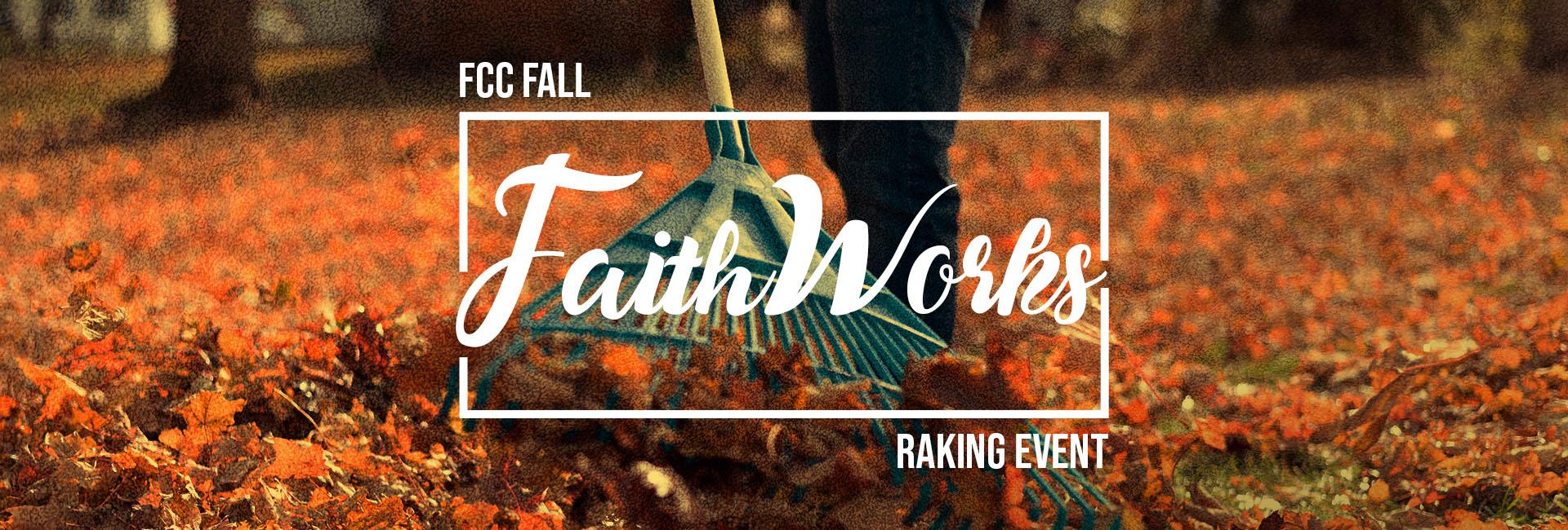 Fall FaithWorks Raking Event