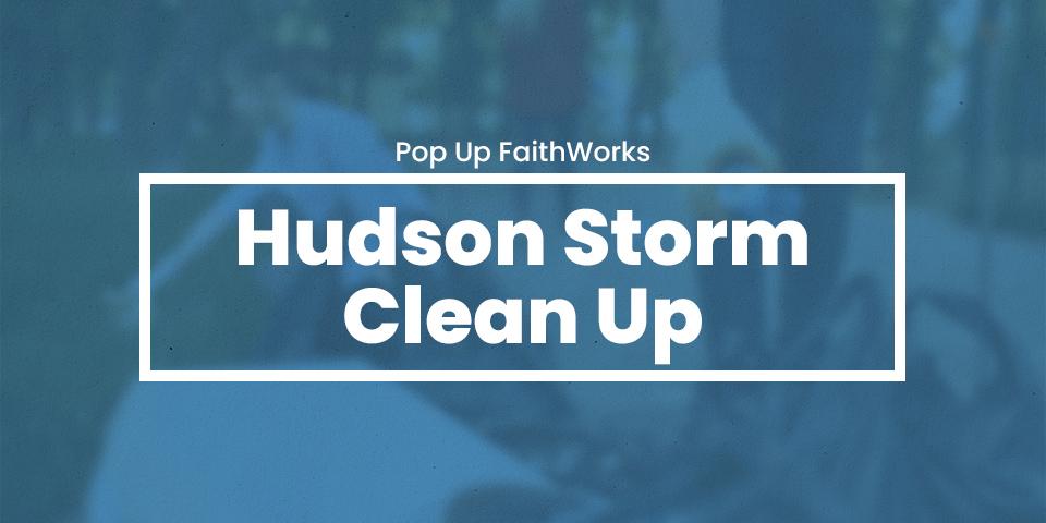 Hudson Storm Clean Up