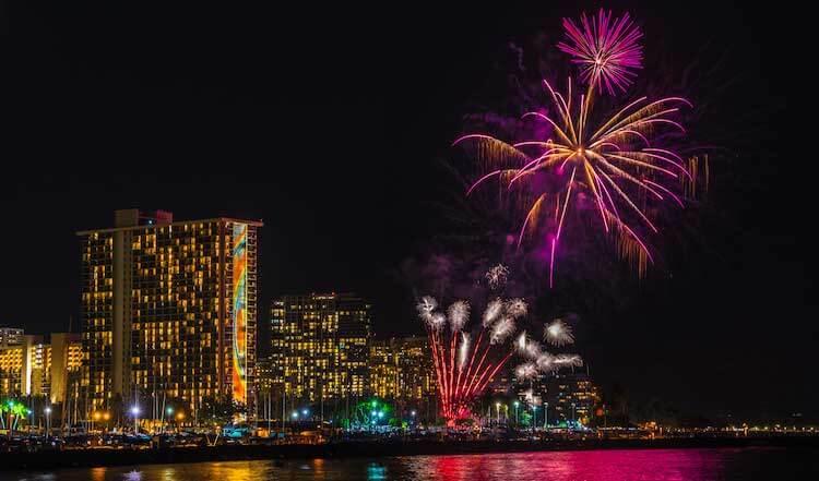 Oahu New Years Eve