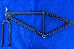 #302 Doom Buggie Black - Bicycle Frame 028
