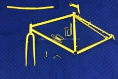 #40 Label Yellow - Bicycle