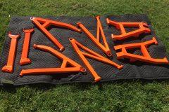#179 Hurley Orange - Suspension Parts 001