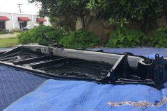 #302 Doom Buggie Black - VW Floor Pan