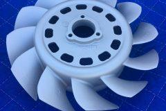 Ceramic Satin Nickel - Fan 001