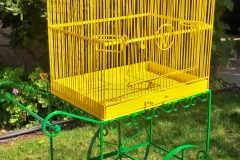 #39 Honey Bee Yellow Bird Cage & # 21 Zombie Green