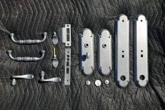 #343 Ricin Grey - Door Lock & Handle Set