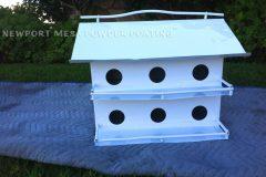 #73 Ice White - Bird House