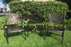 #63 Oil Rubbed Bronze - Patio Chair's & Table 004