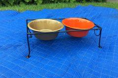 #04 Hidden Black Tray - #123 Hyatt Gold & #364 Bummer Orange with High Gloss Clear Dishes 006