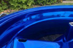 #201 Candy Blue over Chrome - Moto Rim 043