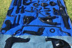 #04 Hidden Black - Suspension & Engine lot