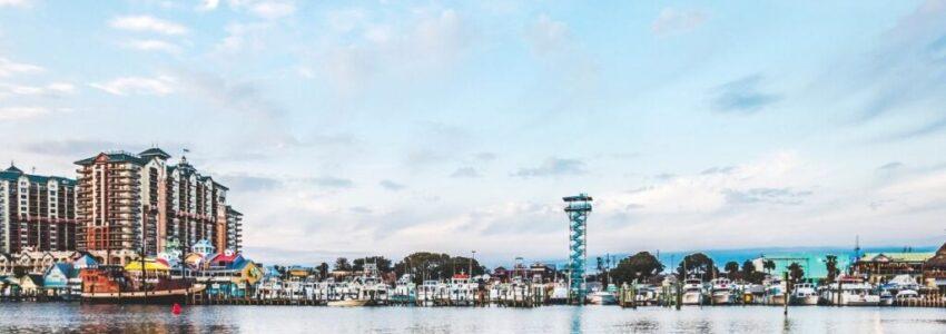 Destin Florida Landscape View