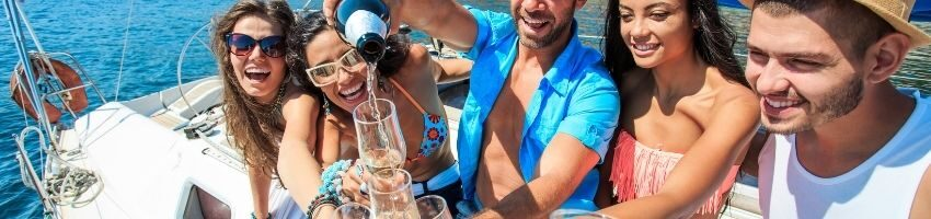 Husband celebrate his wife birthday party and have a Throw an Epic Yacht Party