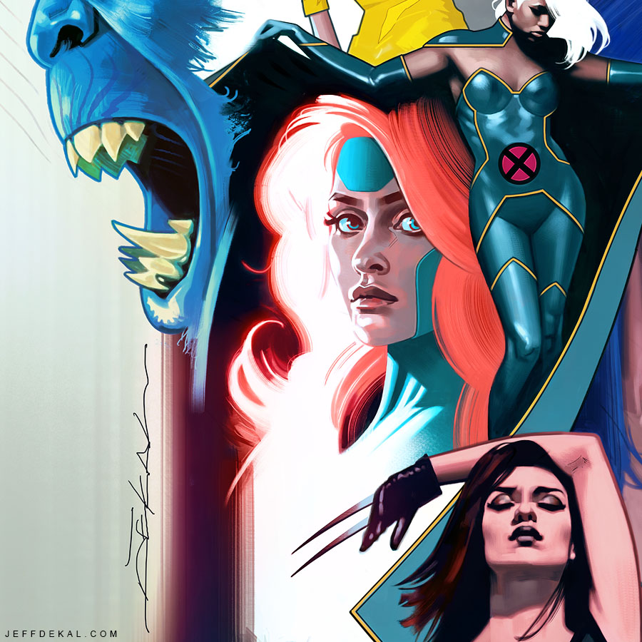 Uncanny X-Men #1_Variant Cover