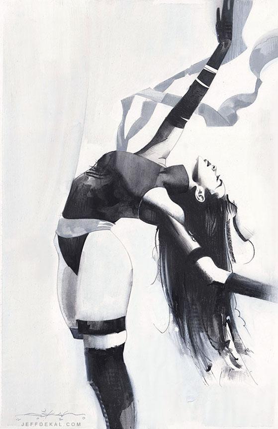 Psylocke Ballet