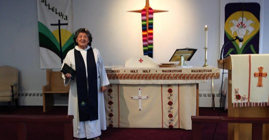 G'wich'in Grandmother Ordained In Anglican Church -cklb Radio