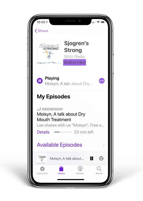 How to Subscribe to a podcast