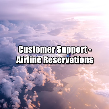 Customer-Support-Your-Airline-Reservation