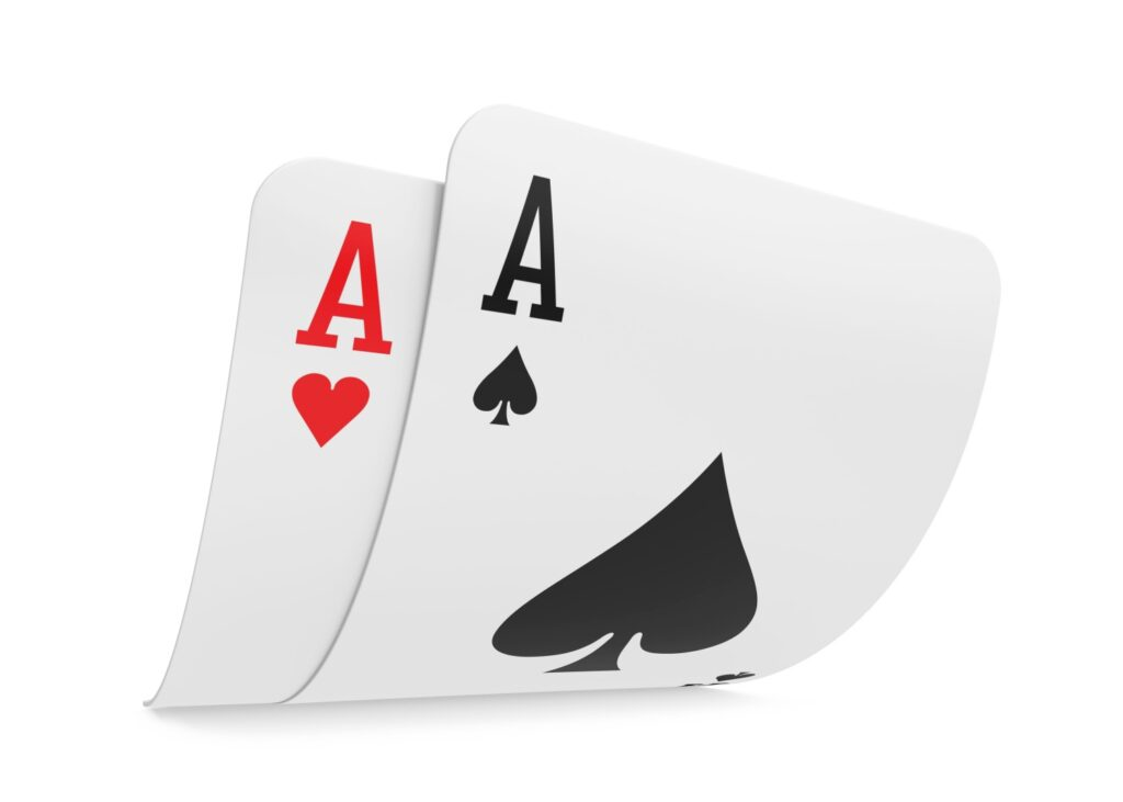 Blackjack - Splitting Aces