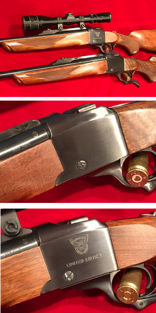 Ruger No. 1 Single Shot Falling Block Rifle