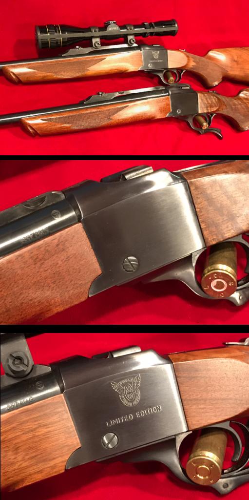 Ruger No. 1 Single Shot Falling Block Rifle