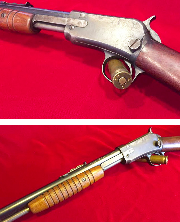 Winchester Model 62 Pump Action Rifle