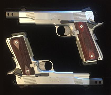 Caspian 1911A1 45 ACP Pistols