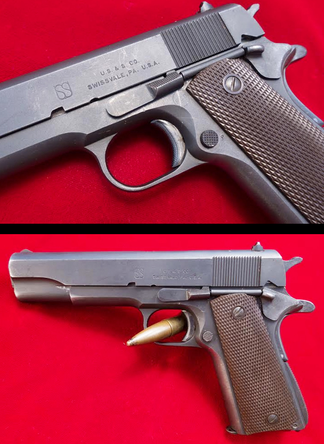 Union Switch & Signal 1911 A1 Service Pistol