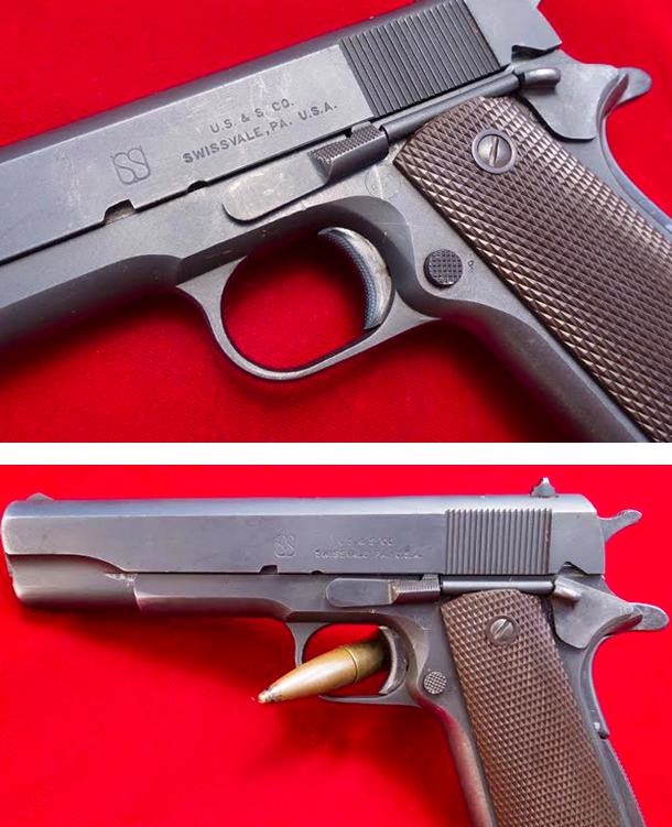 Union Switch & Signal 1911 A1 Service Pistol