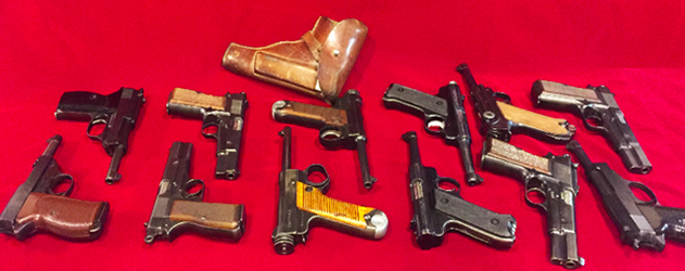 WW2 Pistol Collection