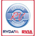 Mobile RV Repair RVIA RVDA certification