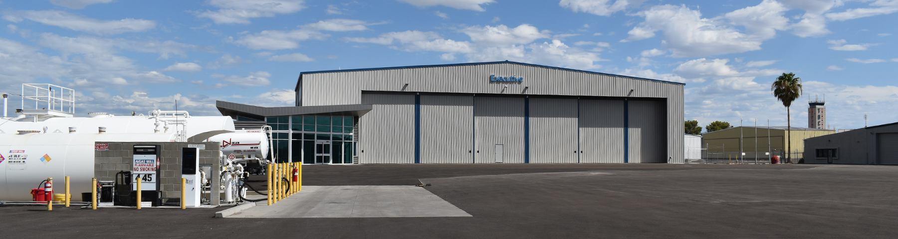 Executive Air Tucson - General Aviation and Private Aviation FBO at Tucson International Airport (KTUS) - Line Service and Aircraft Fuel