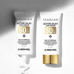 MEDI-PEEL Active Silky Sun Cream Kpop Product