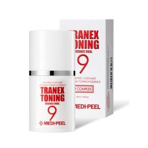 MEDI-PEEL Tranex Toning 9 Essence Dual Ampoule Skincare Product