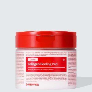 MEDI-PEEL RED LACTO COLLAGEN PEELING PAD Kpop Skincare Beauty