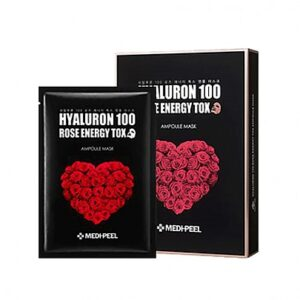 medipeel hyaluron 100 rose mask skincare